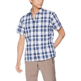 [オンヨネ] シャツ メンズ半袖シャツチェックinsect shield ODJ98601 003675 日本 L (日本サイズL相当)
