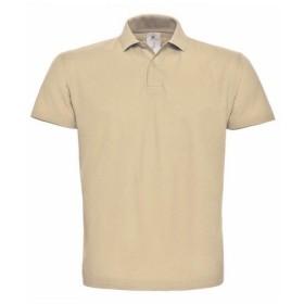(ビー・アンド・シー) B&C ID.001 レディース 半袖ポロシャツ 半袖トップス カットソー 女性用 (M) (サンド)