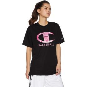 [チャンピオン] プラクティスTシャツ バスケットボール CW-PB324 レディース ブラック×ローズ 日本 S (日本サイズS相当)