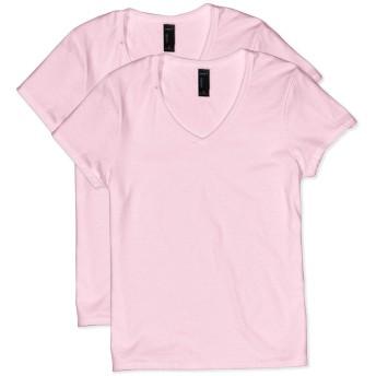 Hanes SHIRT レディース US サイズ: Medium カラー: ピンク