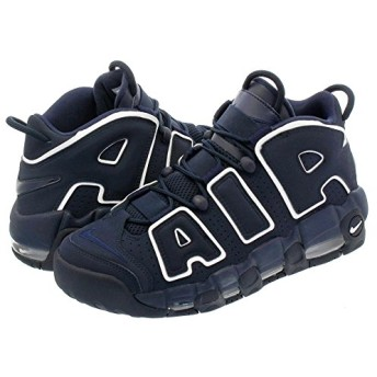 [ナイキ] AIR MORE UPTEMPO 96 OBSIDIAN/OBSIDIAN/WHITE [並行輸入品]