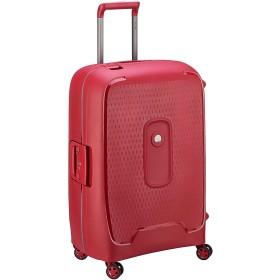 DELSEY デルセー スーツケース 大型 lサイズ ハード キャリーケース 大容量 キャリーバッグ 軽量 TSAロック 8輪キャスター 静音 MONCEY PP素材 修学旅行 5年国際保証 レッド/111L
