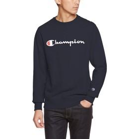 [チャンピオン] (旧モデル) クルーネックスウェットシャツ ベーシック C3-L023 メンズ ネイビー 日本 XL (日本サイズXL相当)