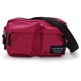 Aness (アネス) 軽量 3way ボディバッグ ウエストバッグ ショルダーバッグ 多機能 洗い加工 レディース バッグ 鞄 #p222 (ワイン)