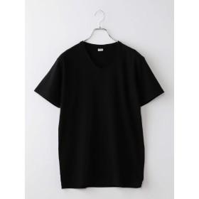 [シップス] Tシャツ 半袖 Vネック ADONIS アドニス メンズ 112120883 L ブラック 黒