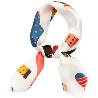 PICOH(ピコー) アンティーク調 ドット スカーフ 正方形 巻き方 アレンジ 自由 トレンド おしゃれ レディース 家族 友達 お揃い (ソックス)