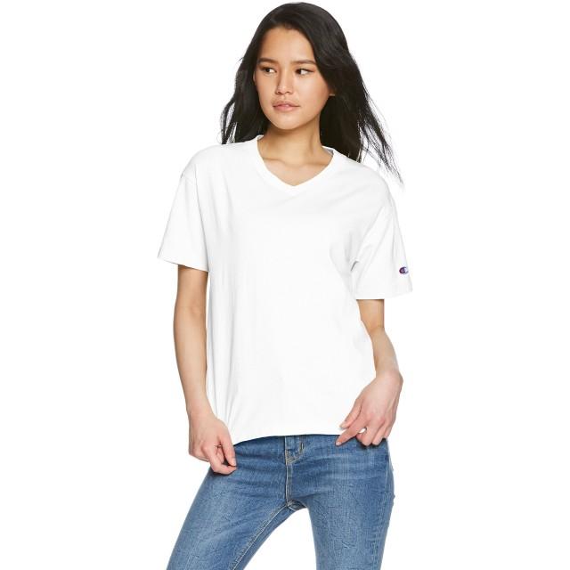 [チャンピオン] Tシャツ Vネック ベーシック CW-M323 ホワイト L
