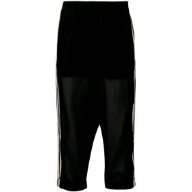 Adidas クロップド トラックパンツ - ブラック