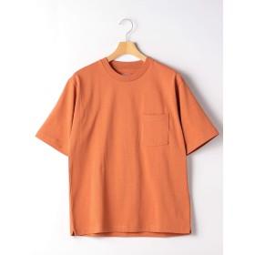 (ユナイテッドアローズ グリーンレーベル リラクシング) SC ヘビーウェイト クルー 半袖 Tシャツ 32171754587 4570 ORANGE(45) L