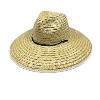 The Hatter(ザ・ハッター) 麦わら帽子 ガーデニング 農作業 帽子 UV 日よけ メンズ レディース おしゃれ UVカット 紫外線 日焼け つば広 春 夏 首 首ガード 父の日 ブラック