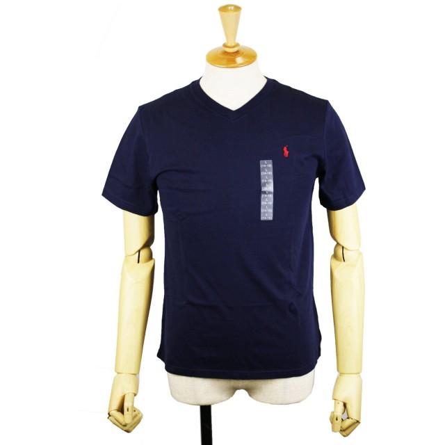 POLO RALPH LAUREN ポロ ラルフローレン BOYS ボーイズ Vネック Tシャツ ワンポイント スモールポニー
