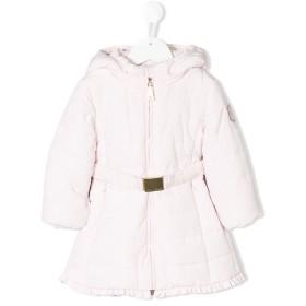 Monnalisa パデッドコート - ピンク