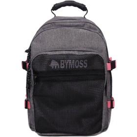 [バイモス]BYMOSS マキシマム リュック 3シリーズ男女兼用 (Maximum Backpack 3Series) (グレーピンク) [並行輸入品]