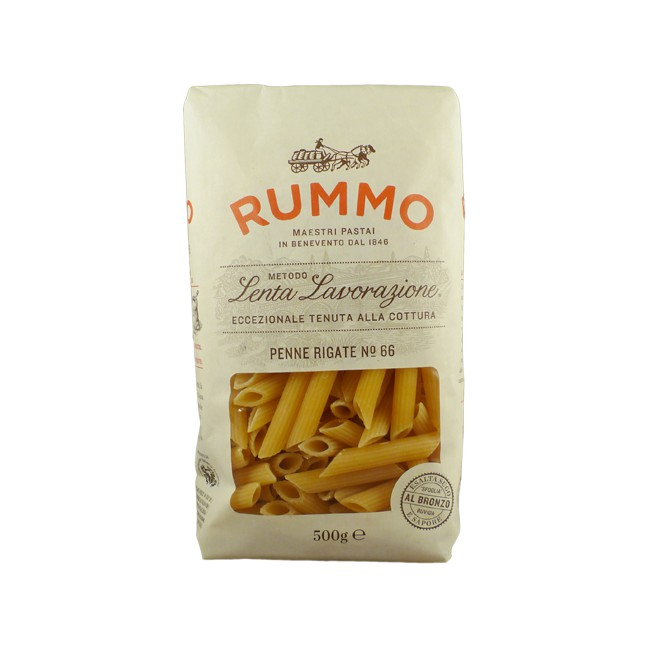 Rummo No.66 尖管麵 Penne Rigate 500公克