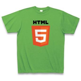 (クラブティー) ClubT HTML5 Tシャツ Pure Color Print(ブライトグリーン) M ブライトグリーン