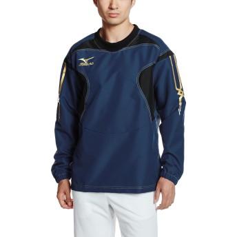 [ミズノ] ラグビーウェア タフブレーカーシャツ 耐久性 撥水 ゲーム 練習 メンズ R2ME6001 14 ドレスネイビー M