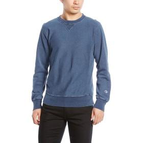 [チャンピオン] リバースウィーブ クルーネックスウェットシャツ C3-K003 メンズ ストーンウォッシュブルー 日本 L (日本サイズL相当)