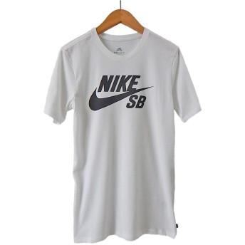 NIKE SB ナイキSB DRI-FIT ロゴ Tシャツ (L, WHITE) [並行輸入品]