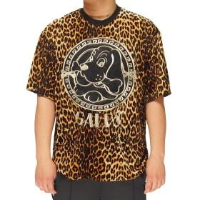 GALFY[ガルフィー] Leopard Tシャツ/半袖/ガルフィー/182002-60イエロー-XL