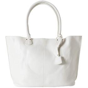 本革風 レザー トートバッグ バッグ レザーバッグ トート 大容量 革 高級 メンズ カジュアル ビジネス ホワイト 白