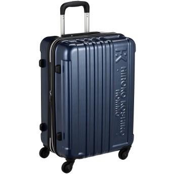 [ヒロコ コシノ オム] スーツケース 2~5泊対応 TSAロック付き マチ幅調節機能付き 60L 54 cm 3.3kg ネイビー