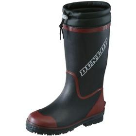 [ダンロップ] (A倉庫 ドルマン W84 レディース 婦人 防寒長靴 マリンブーツ ウィンター 防滑 防寒ブーツ BLW84ブラックL(24.5~25cm)