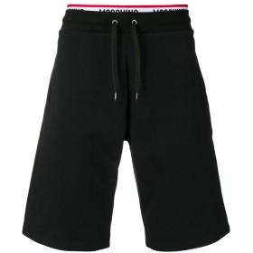 Moschino underwear logo waistband shorts - ブラック