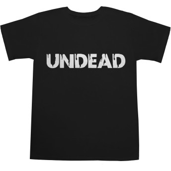 UNDEAD T-shirts ブラック S 【遊戯王】【モンスト】【ゾンビ】