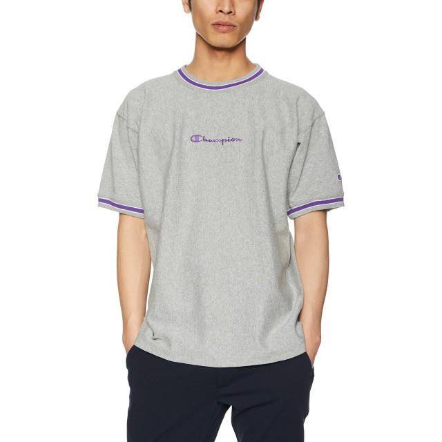 [チャンピオン] リバースウィーブ Tシャツ C3-P317 メンズ オックスフォードグレー 日本 XL (日本サイズXL相当)