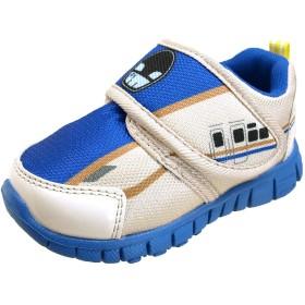 [プラレール] TOMY ベルクロ マジックベルト 運動靴 キッズ (14cm(13.5-14cm), 16185【ブルー】)