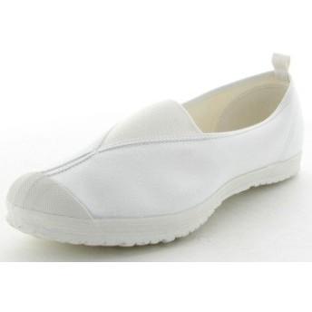 [ムーンスター] 上履き 上靴 学校指定 ハイスクール4型 (17.0, ホワイト)