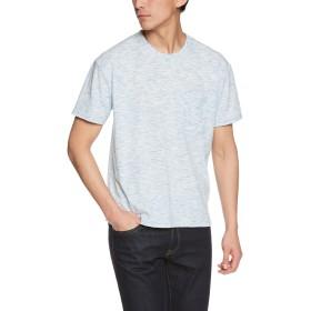 (リピード) REPIDO 半袖Tシャツ クルーネック 半袖 Tシャツ メンズ ビッグT ポケット ブルーグリーン Mサイズ