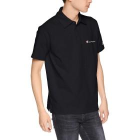 [チャンピオン] ポロシャツ C3-P306 メンズ ブラック 日本 M (日本サイズM相当)