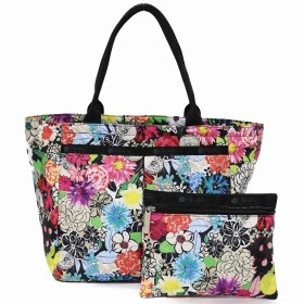 LeSportsac レスポートサック トートバッグ 7470 Small EveryGirl Tote E141 SUNLIGHT FLORAL [並行輸入品]