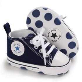 Tamiava キャンバスベビーシューズ赤ちゃん靴新生児靴フォーマルベビーシューズファーストシューズキャンバスシューズスニーカー女の子男の子歩行練習靴通気履き心地いい記念日出産お祝いプレゼント0-18ヶ月