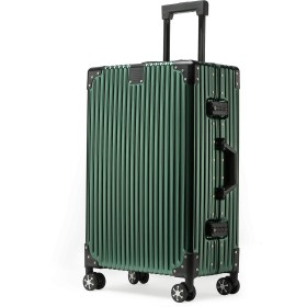 kroeus(クロース)スーツケース キャリーケース アルミ合金ボディ TSAロック 4輪ダブルキャスター 旅行用 フレームタイプ 1年間保証サービス 20