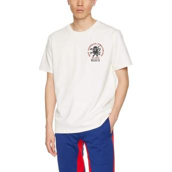 [アヴィレックス] Tシャツ EMB TEE SEAL 6193344 メンズ 02WHITE 日本 M (日本サイズM相当)