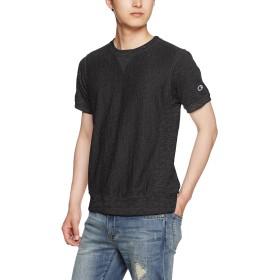 [チャンピオン] リバースウィーブ Tシャツ C3-F301 メンズ オフブラック 日本 M (日本サイズM相当)