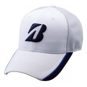 ブリヂストンゴルフ BRIDGESTONE GOLF メンズ クールコンフォートテクノロジーズ&遮熱キャップ CPSG83 ホワイト