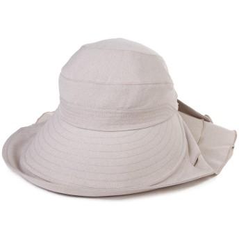 (シッギ)Siggi おしゃれ 女優帽子 バケットハット 日よけ帽子 ハット 帽子 シェードハット レディース 春夏 つば広 uv フリーサイズ あご紐 ゆったり 無地 リボン アウトドア 旅行 ゴルフ 釣り 自転車 農作業 プール ベージュ