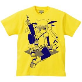 思春期マーブルTシャツ「ビッグソードガール」イラスト:ゆうの[アダルト] (L)
