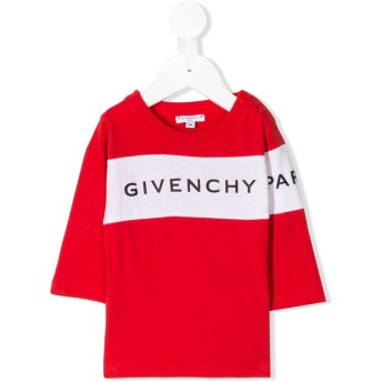 Givenchy Kids ロゴ Tシャツ - レッド