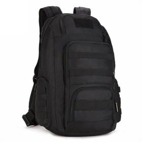 (フェニックス一輝) Phoenix Ikki 40L 豊富なポケット 全5色 迷彩柄 防水耐震 快適 ユニセックス カジュアル リュック アウトドア バックパック タクティカル 鞄 ブラック