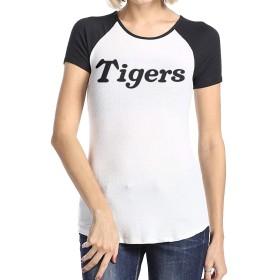 レディース 半袖 Tシャツ 阪神タイガース Hanshin Tigersプリント 無地 シンプル 丸首 肌触り良い ファッション 普段着 ルームウェア