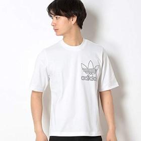アディダス オリジナルス(adidas originals) 【アディダスオリジナルス】メンズTシャツ(OUTLINE TEE)【01ホワイト/J/M】