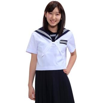 トンボ(TOMBOW) スクールセーラー服 上衣 A体(半袖)33715-01 【145A】
