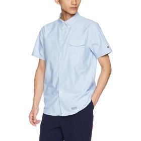 [チャンピオン] 半袖ボタンダウンシャツ C3-M341 メンズ ブルー 日本 M (日本サイズM相当)