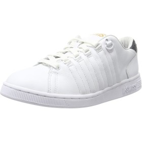 Womens K Swiss Sneakers Lozan III TT Tongue Twister Shoes-White-24