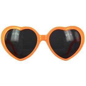ハートサングラス【sunglass ルピス】/オレンジ