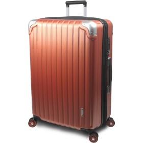 【SUCCESS サクセス】 スーツケース 3サイズ 【 大型 76cm / ジャスト型 70cm / 中型 65cm 】 超軽量 TSAロック搭載 【 プロデンス コーナーパットモデル】 (大型 Lサイズ 76cm, パーシモンヘアライン)